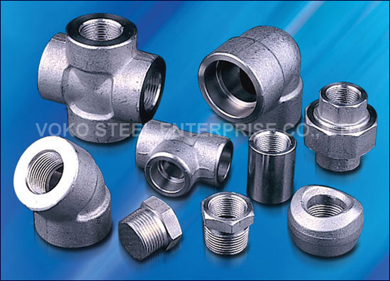Voko steel pipe fitting forged fittings
